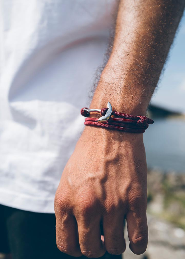 Armband Anker Basic Paracord Edelstahl